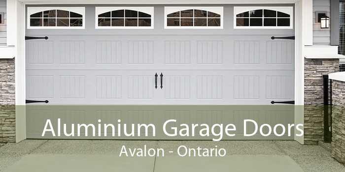 Aluminium Garage Doors Avalon - Ontario