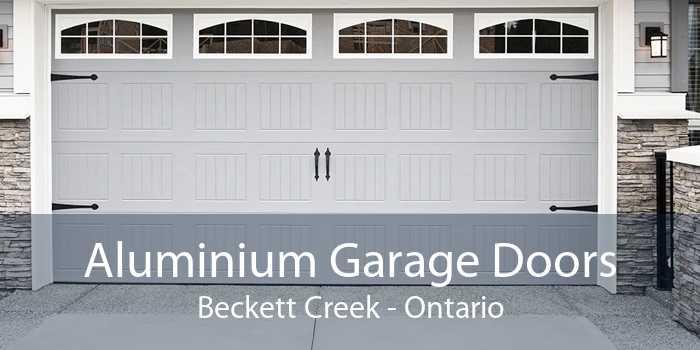 Aluminium Garage Doors Beckett Creek - Ontario