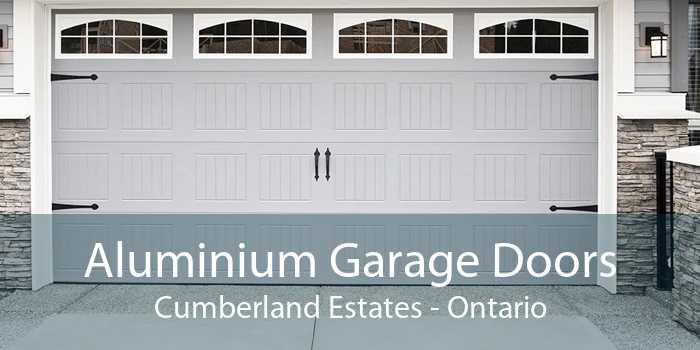 Aluminium Garage Doors Cumberland Estates - Ontario