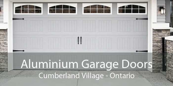 Aluminium Garage Doors Cumberland Village - Ontario