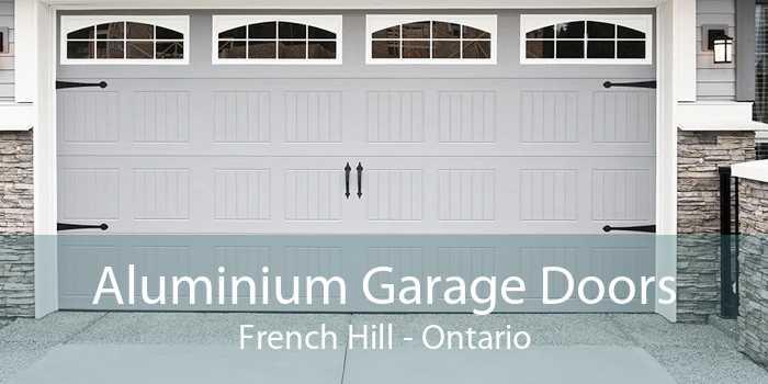 Aluminium Garage Doors French Hill - Ontario