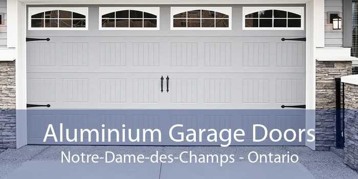 Aluminium Garage Doors Notre-Dame-des-Champs - Ontario