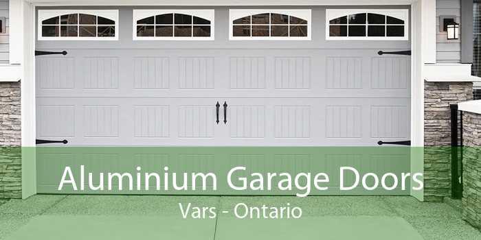 Aluminium Garage Doors Vars - Ontario