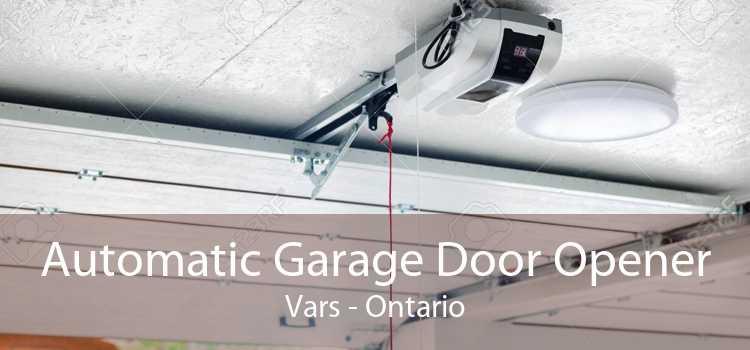 Automatic Garage Door Opener Vars - Ontario