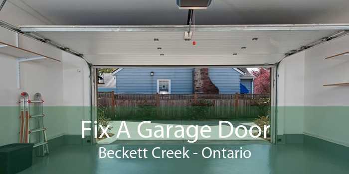 Fix A Garage Door Beckett Creek - Ontario