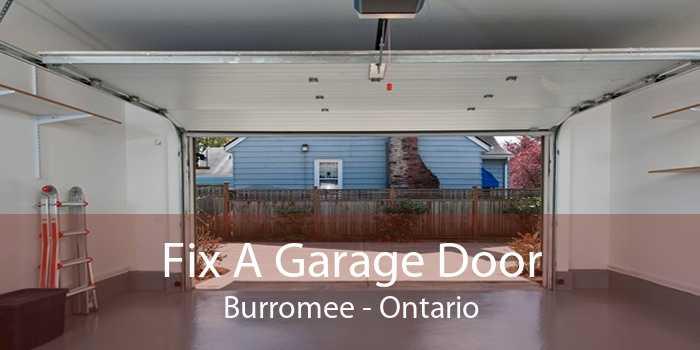 Fix A Garage Door Burromee - Ontario