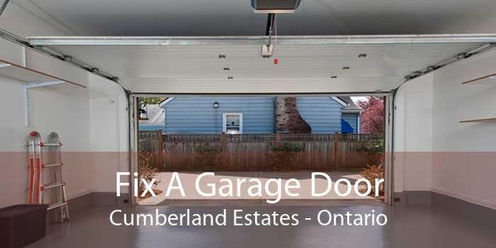 Fix A Garage Door Cumberland Estates - Ontario