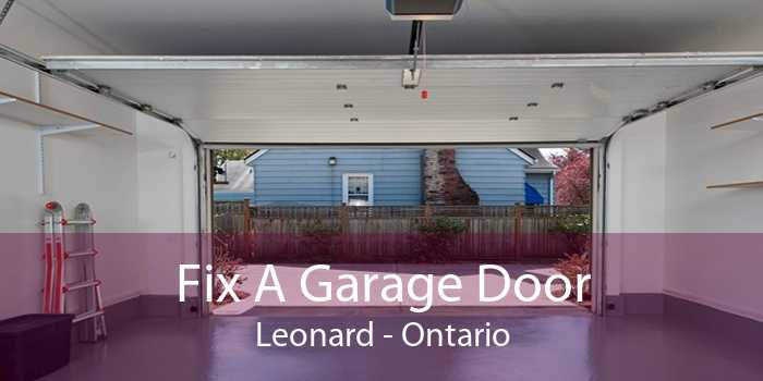 Fix A Garage Door Leonard - Ontario