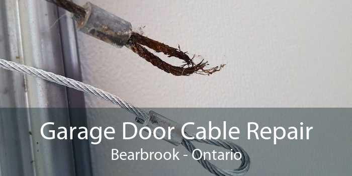 Garage Door Cable Repair Bearbrook - Ontario