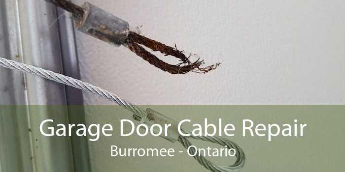 Garage Door Cable Repair Burromee - Ontario