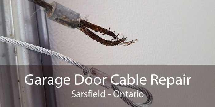 Garage Door Cable Repair Sarsfield - Ontario