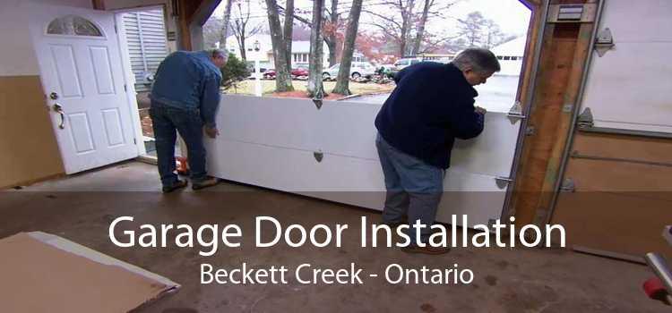 Garage Door Installation Beckett Creek - Ontario