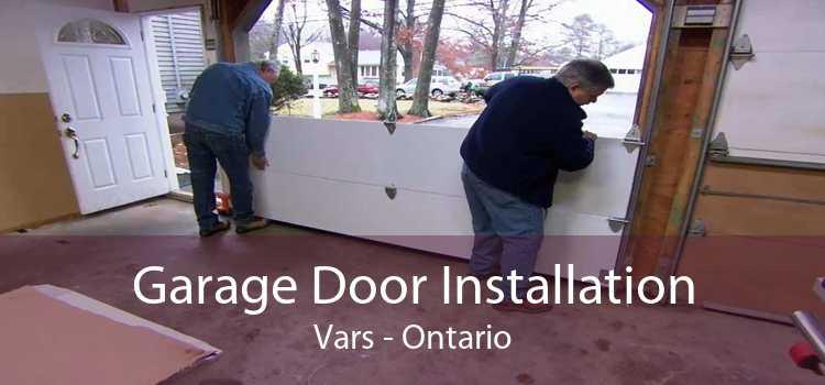 Garage Door Installation Vars - Ontario