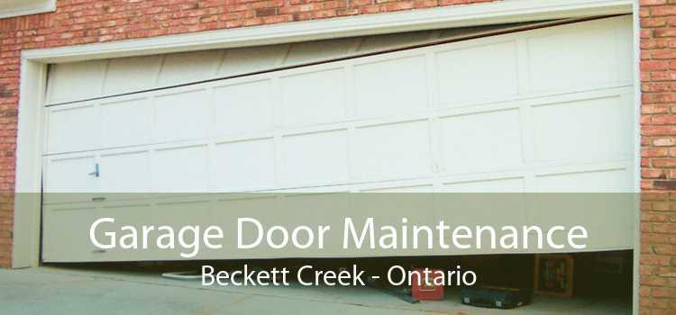 Garage Door Maintenance Beckett Creek - Ontario
