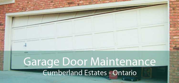 Garage Door Maintenance Cumberland Estates - Ontario