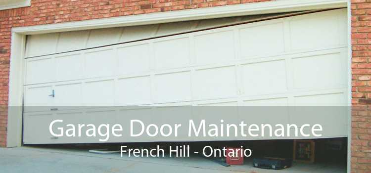 Garage Door Maintenance French Hill - Ontario