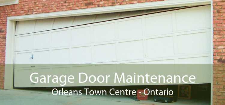 Garage Door Maintenance Orleans Town Centre - Ontario