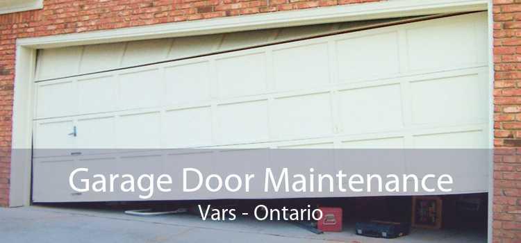 Garage Door Maintenance Vars - Ontario