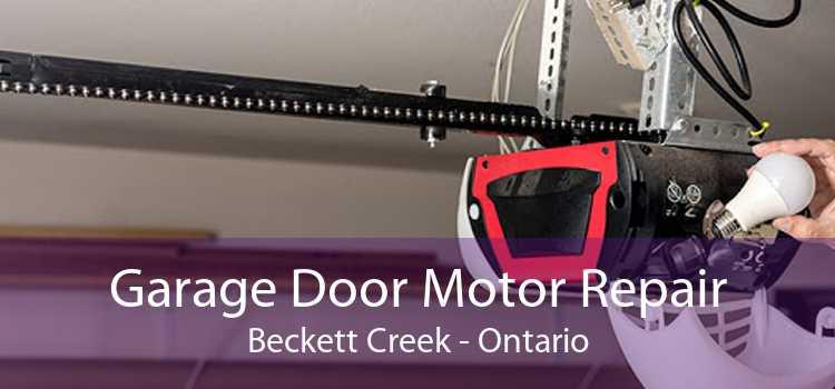 Garage Door Motor Repair Beckett Creek - Ontario