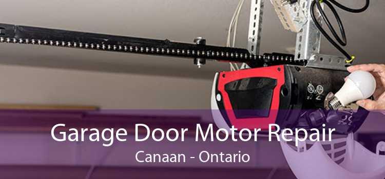Garage Door Motor Repair Canaan - Ontario