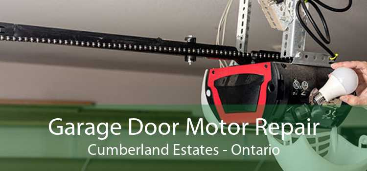 Garage Door Motor Repair Cumberland Estates - Ontario