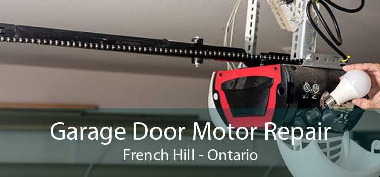 Garage Door Motor Repair French Hill - Ontario