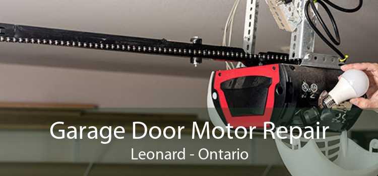 Garage Door Motor Repair Leonard - Ontario