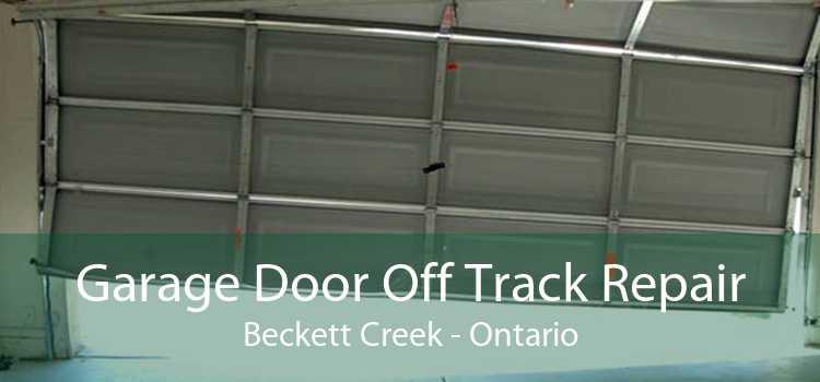 Garage Door Off Track Repair Beckett Creek - Ontario