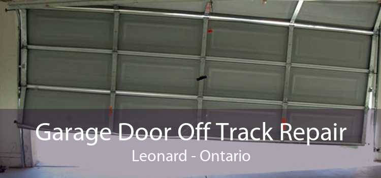 Garage Door Off Track Repair Leonard - Ontario