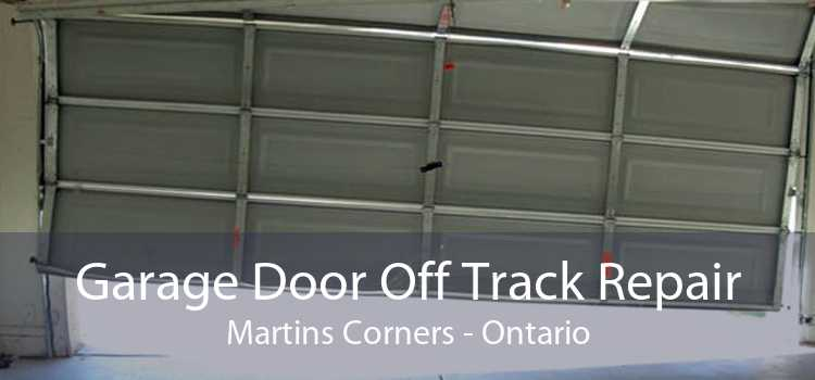 Garage Door Off Track Repair Martins Corners - Ontario