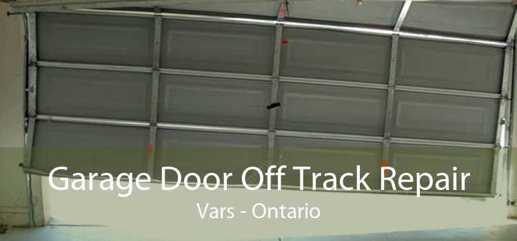 Garage Door Off Track Repair Vars - Ontario