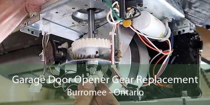 Garage Door Opener Gear Replacement Burromee - Ontario