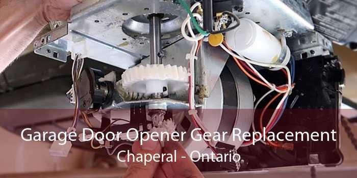 Garage Door Opener Gear Replacement Chaperal - Ontario