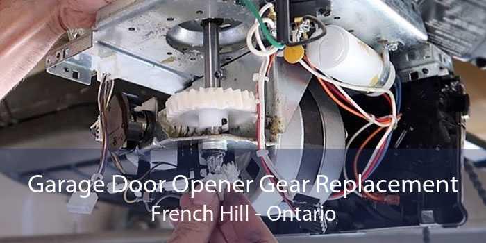 Garage Door Opener Gear Replacement French Hill - Ontario