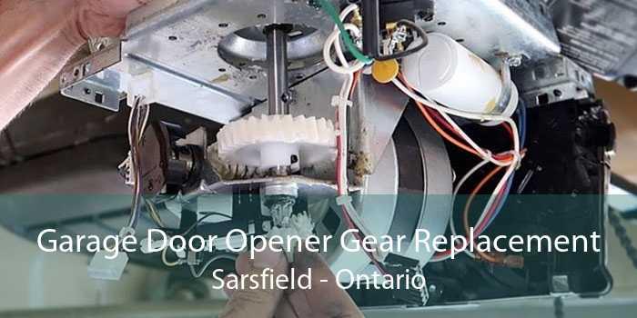 Garage Door Opener Gear Replacement Sarsfield - Ontario