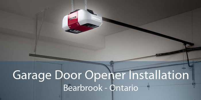 Garage Door Opener Installation Bearbrook - Ontario