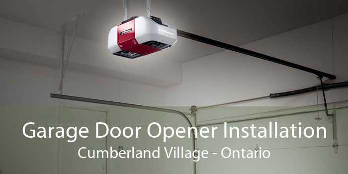 Garage Door Opener Installation Cumberland Village - Ontario