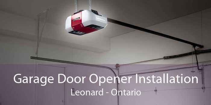 Garage Door Opener Installation Leonard - Ontario