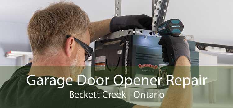 Garage Door Opener Repair Beckett Creek - Ontario