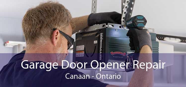 Garage Door Opener Repair Canaan - Ontario