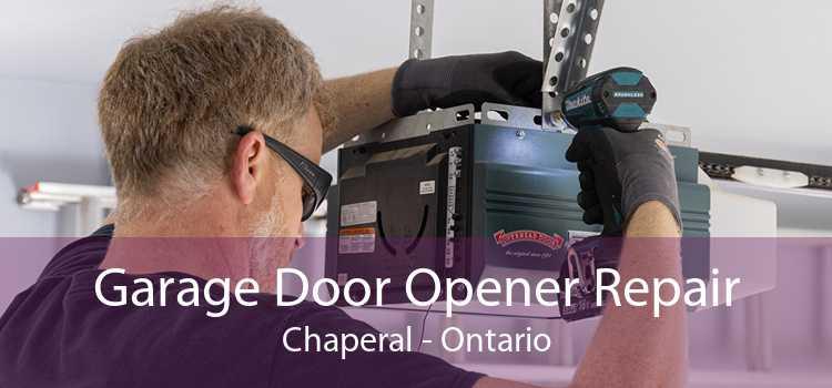 Garage Door Opener Repair Chaperal - Ontario