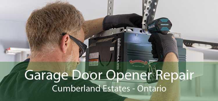 Garage Door Opener Repair Cumberland Estates - Ontario