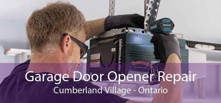 Garage Door Opener Repair Cumberland Village - Ontario
