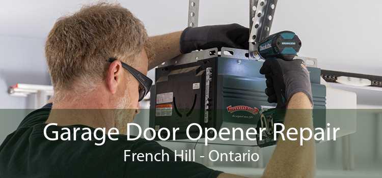 Garage Door Opener Repair French Hill - Ontario