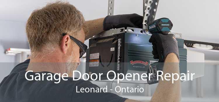 Garage Door Opener Repair Leonard - Ontario