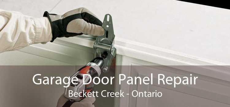 Garage Door Panel Repair Beckett Creek - Ontario