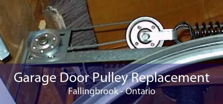 Garage Door Pulley Replacement Fallingbrook - Ontario