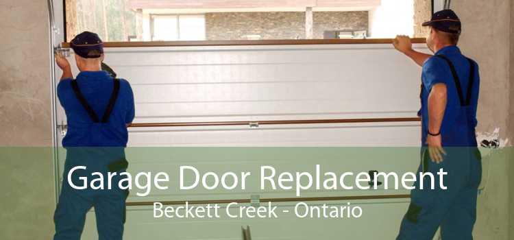 Garage Door Replacement Beckett Creek - Ontario