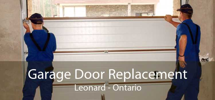 Garage Door Replacement Leonard - Ontario