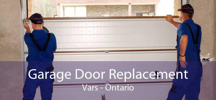 Garage Door Replacement Vars - Ontario